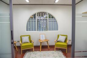 Sala de estudio o sesion individual
