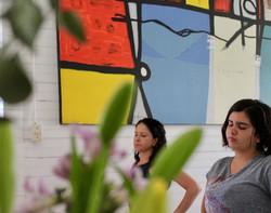 Sesion de yoga con Maria Jose Mesen 2