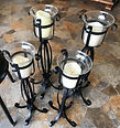 Electric candle set