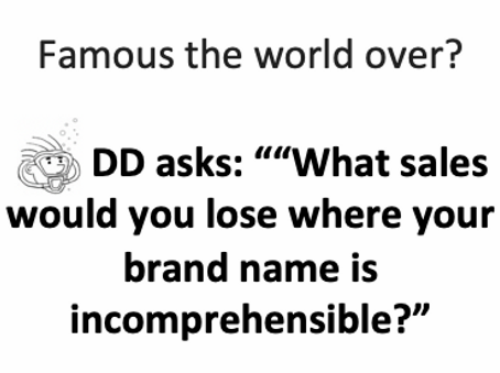 """""""Our brands and trademarks work anywhere …"""""""