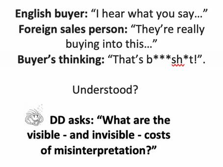 """… Otherwise, we can use translators…"""
