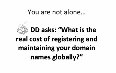 """""""Registering our web domain gives us worldwide exposure…"""""""