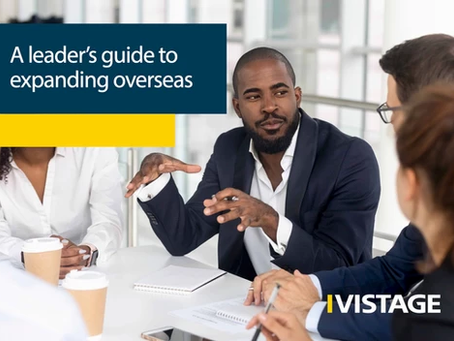 """NEW: """"A LEADER'S GUIDE TO EXPANDING OVERSEAS"""" by VISTAGE"""