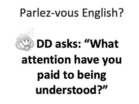 Parlez-vous English?