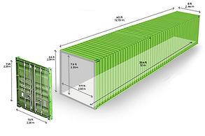 Container 40 Pés Standart