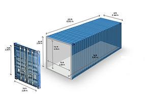Container 20 Pés Standart