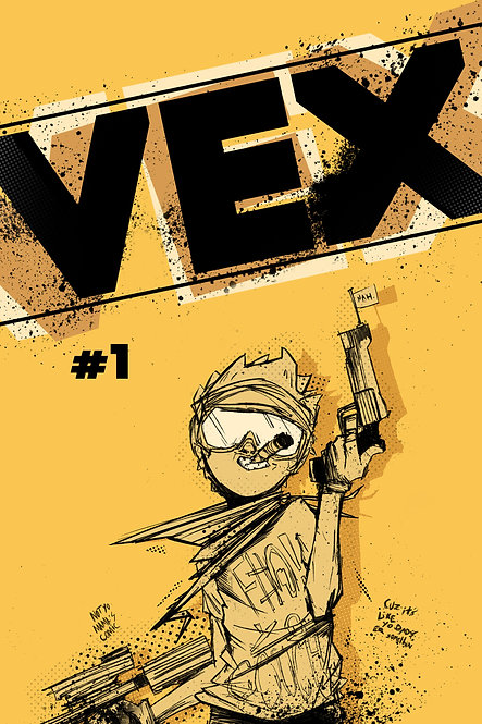 Vex Issue #1 Digital edition + Free Art Book + Free Music Download