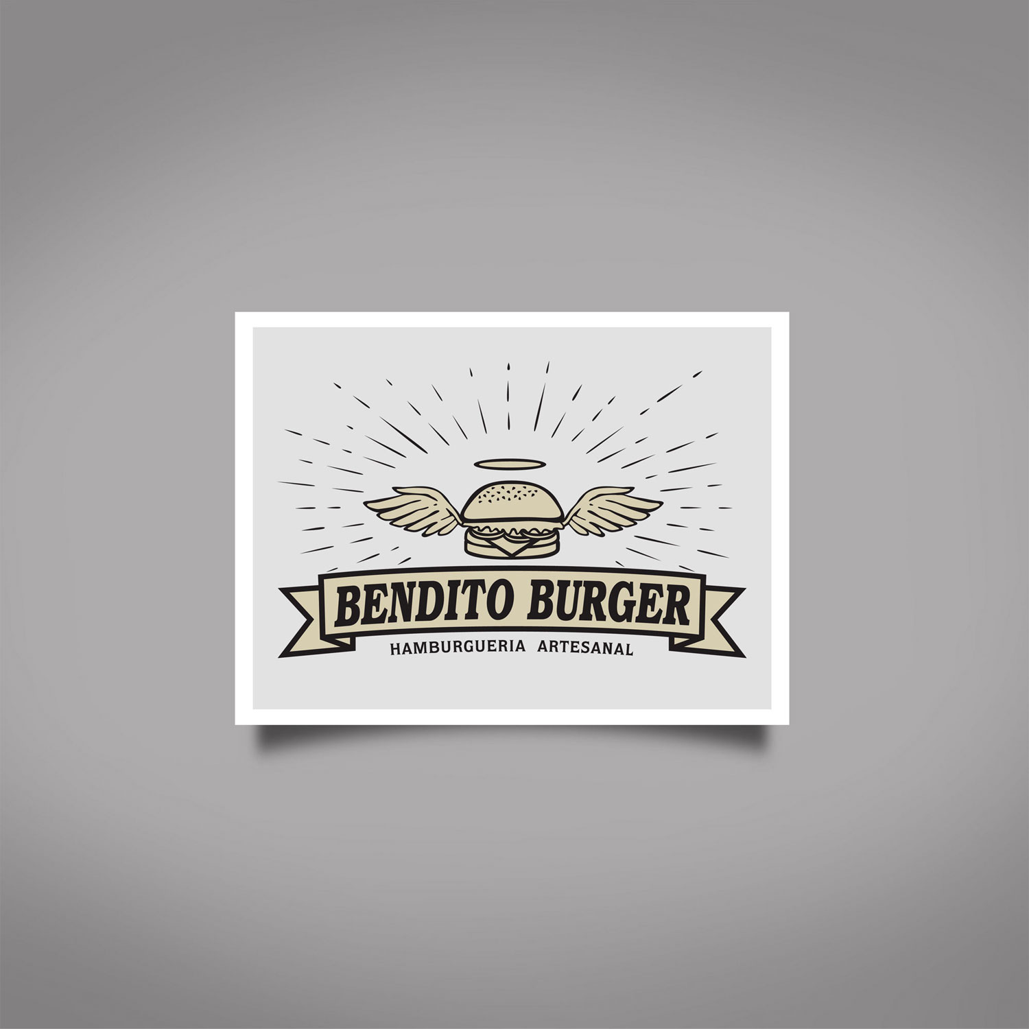 Logo Bendito Burger
