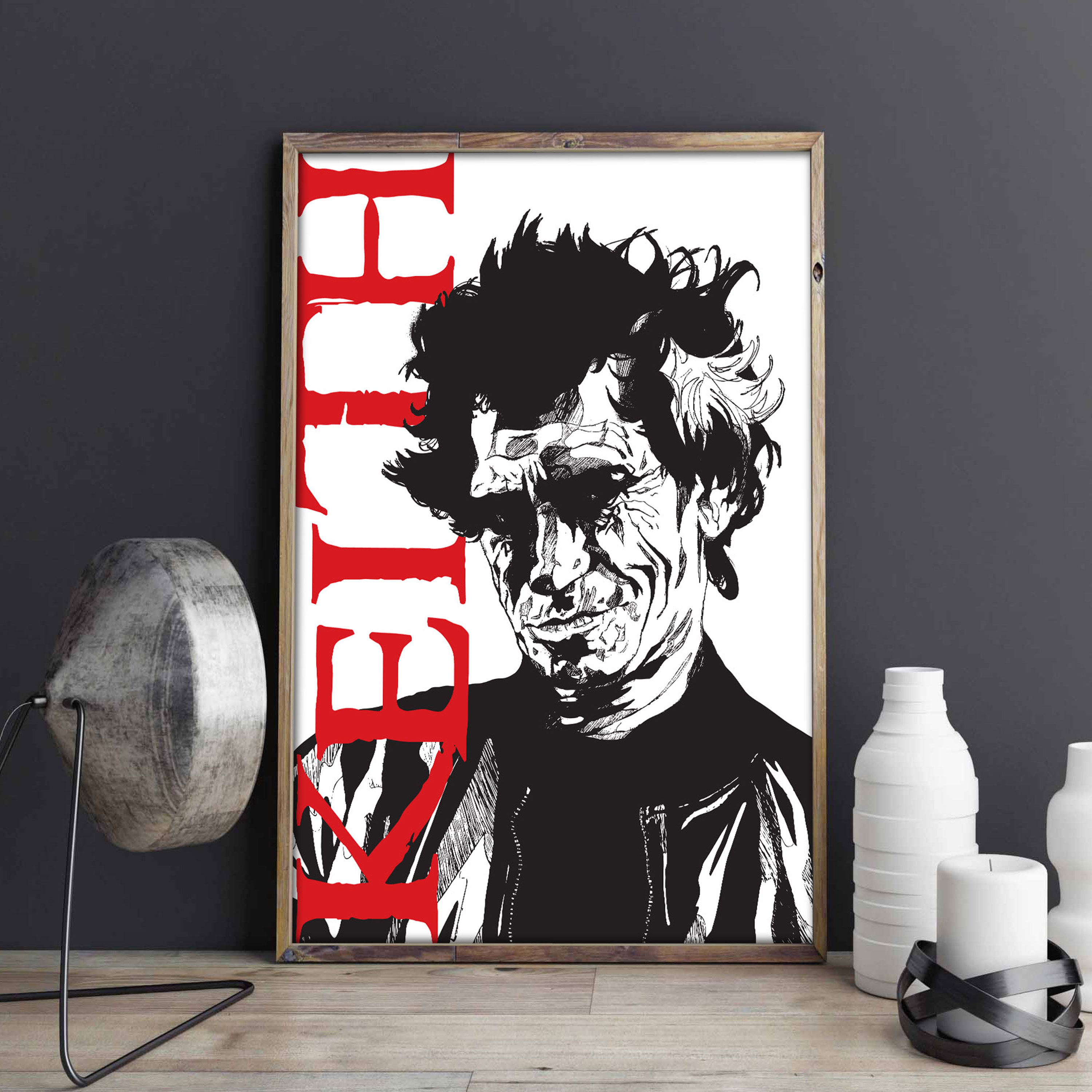 Quadro Keith Richards