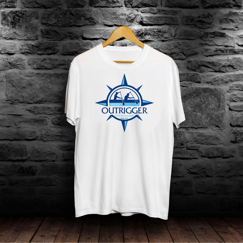 Camiseta Brinde Mundo Outrigger