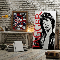 Tela Mick Jagger