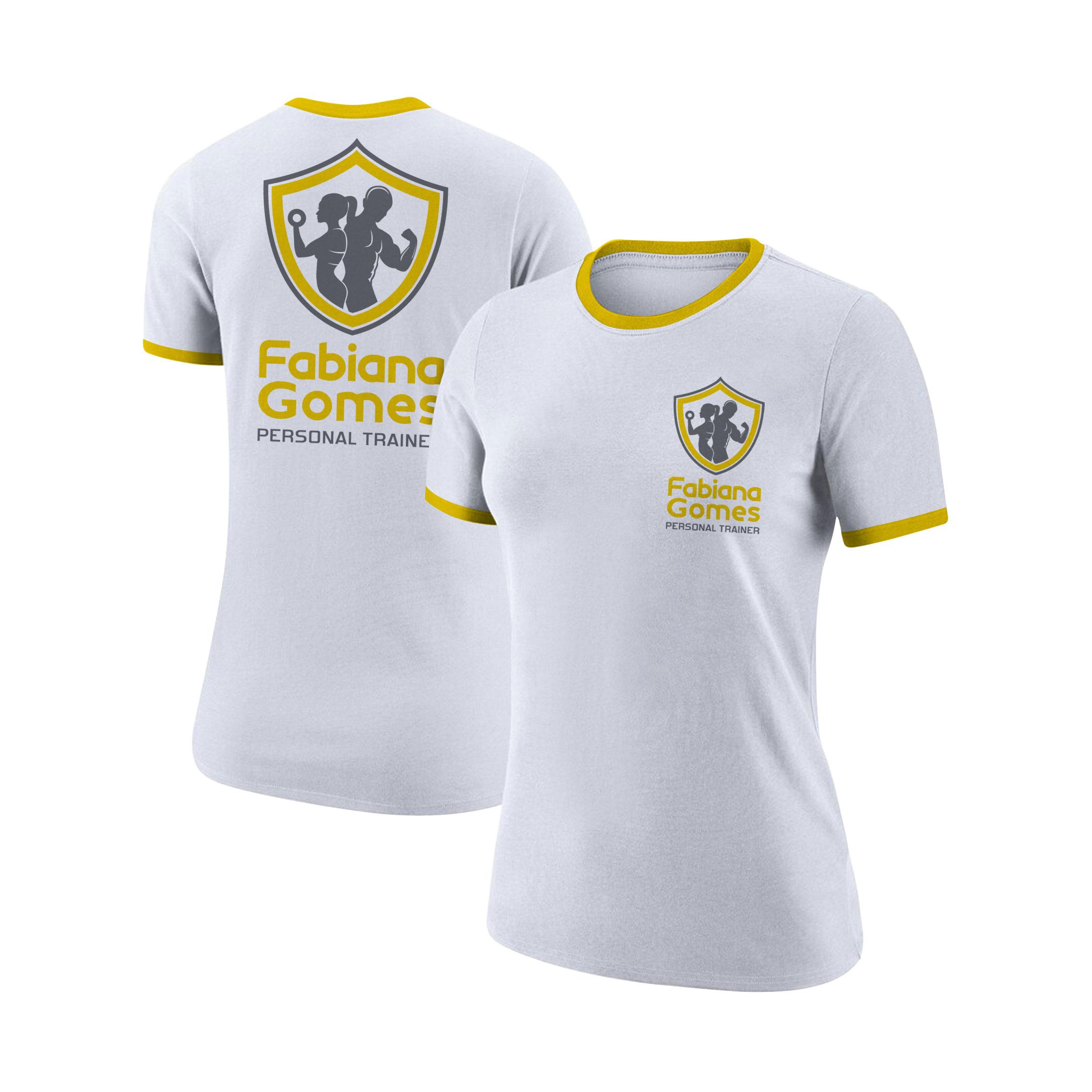 Criação de camiseta treino1
