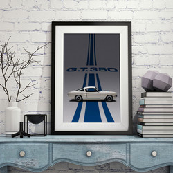 Quadro Mustang GT 350