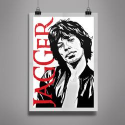 Poster Mick Jagger