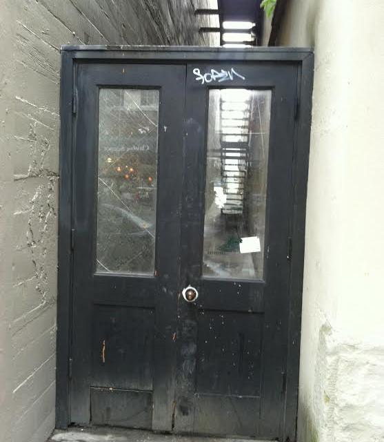 Ally Door Before...