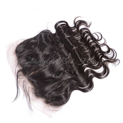 Wavy Lace Frontal/ Silkbase (Pre-plucked)