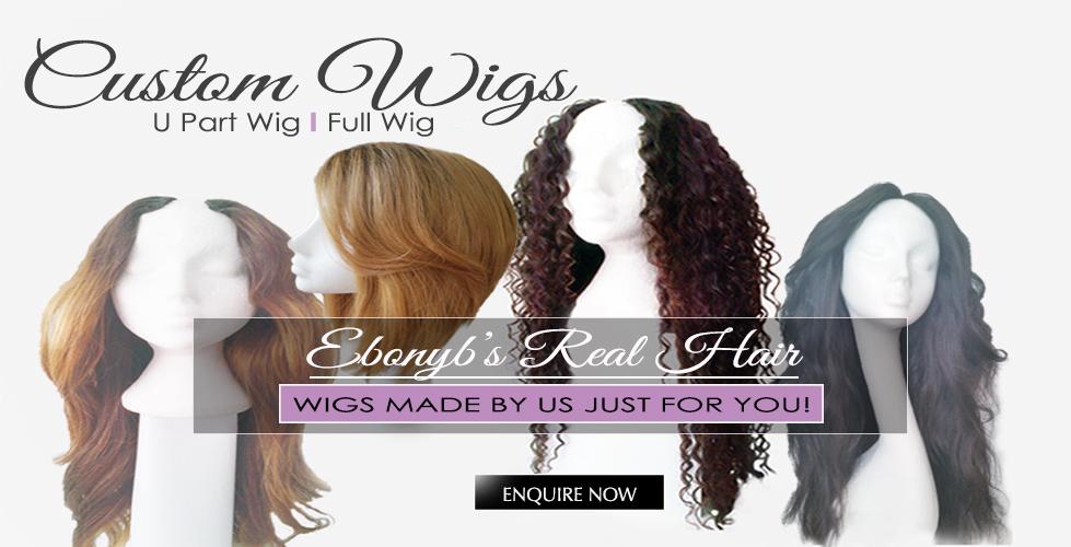 custom hand made wig units
