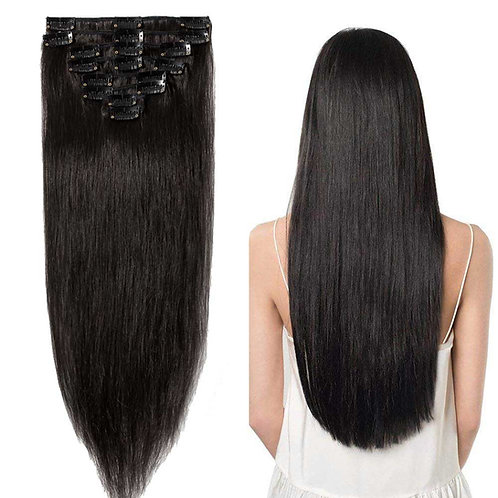 Full Head Clip ins Hair Extension