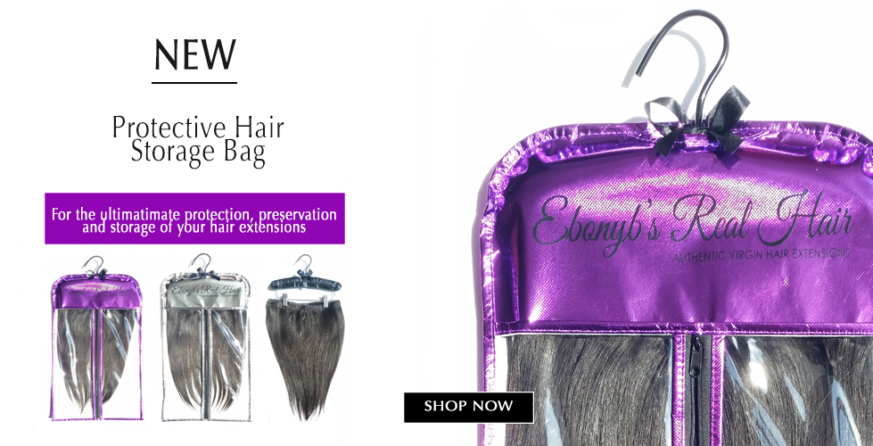 Hair Storage Bag for wigs & clip-ins