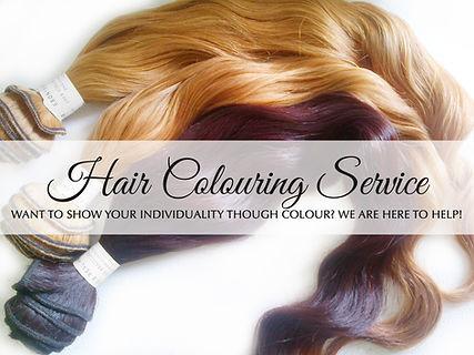 Custom Hair Colouring Service