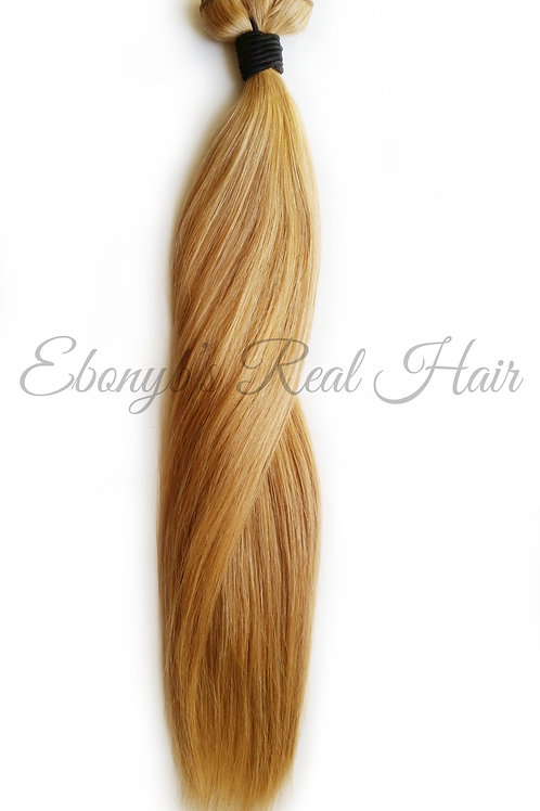 Straight Blonde Remy Hair Extension