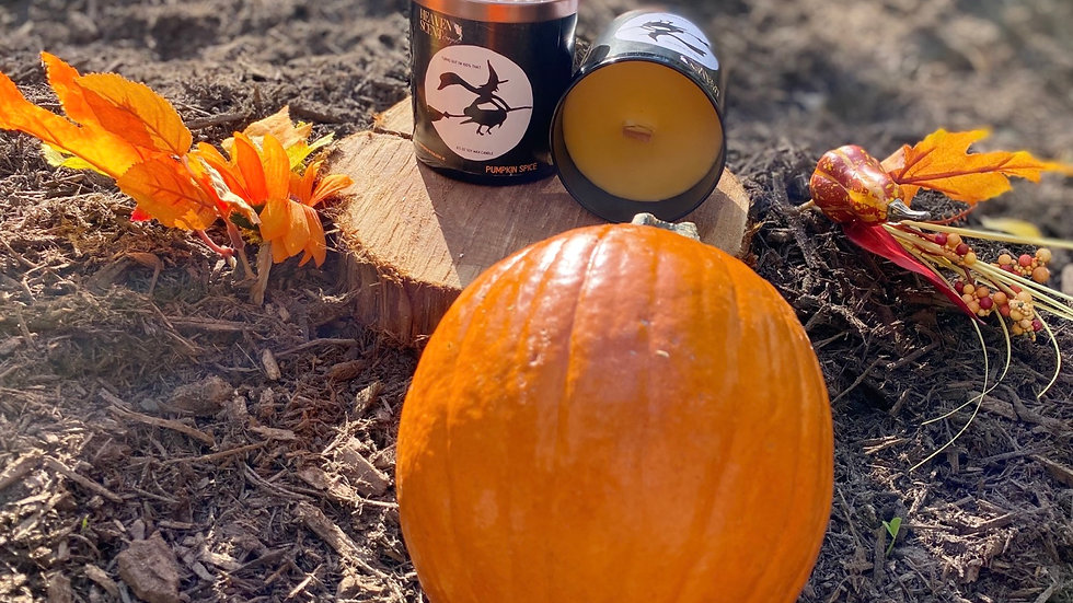 100% THAT WITCH(Pumpkin Spice) - 8.5 oz soy wax candle