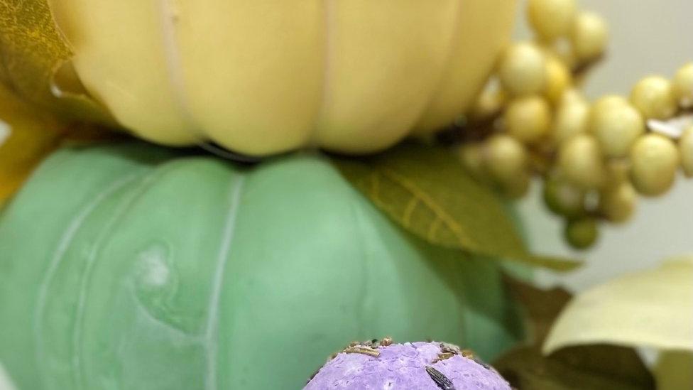 INFUSED Lavender + Mint Bath Bomb