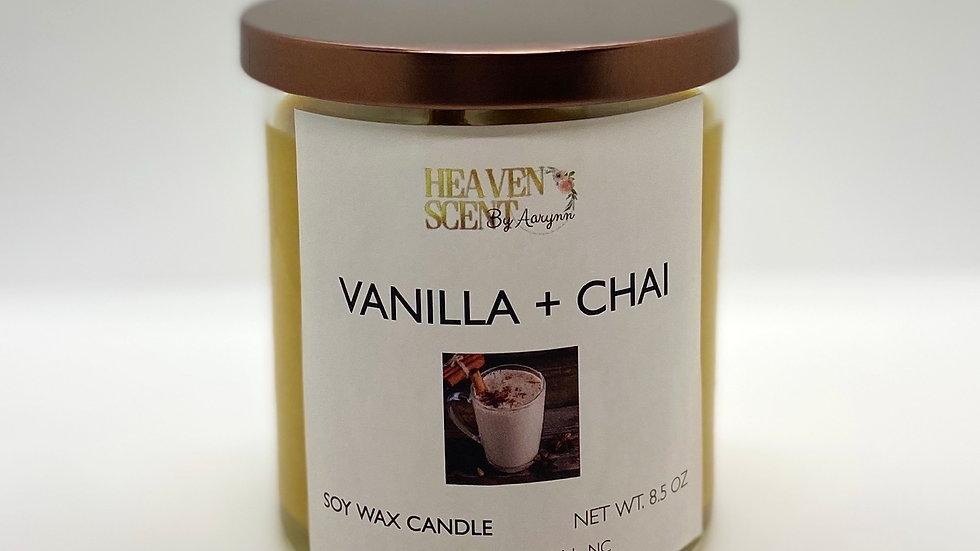 Vanilla + Chai Candle - 8 oz.