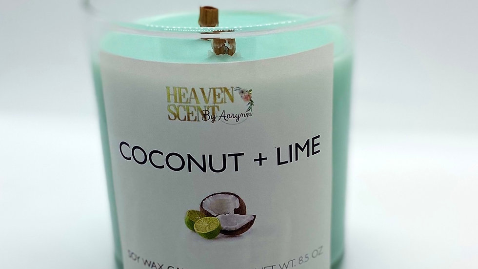 Coconut + Lime Candle - 8 oz.