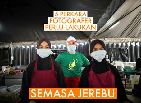 5 CARA MUDAH UNTUK FOTOGRAFER ELAK TERKESAN DENGAN MASALAH JEREBU
