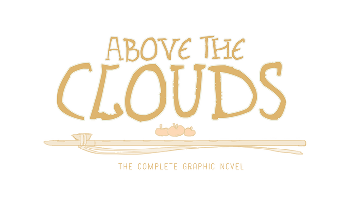 Aboe the Clouds (logo) - The complte graphic novel