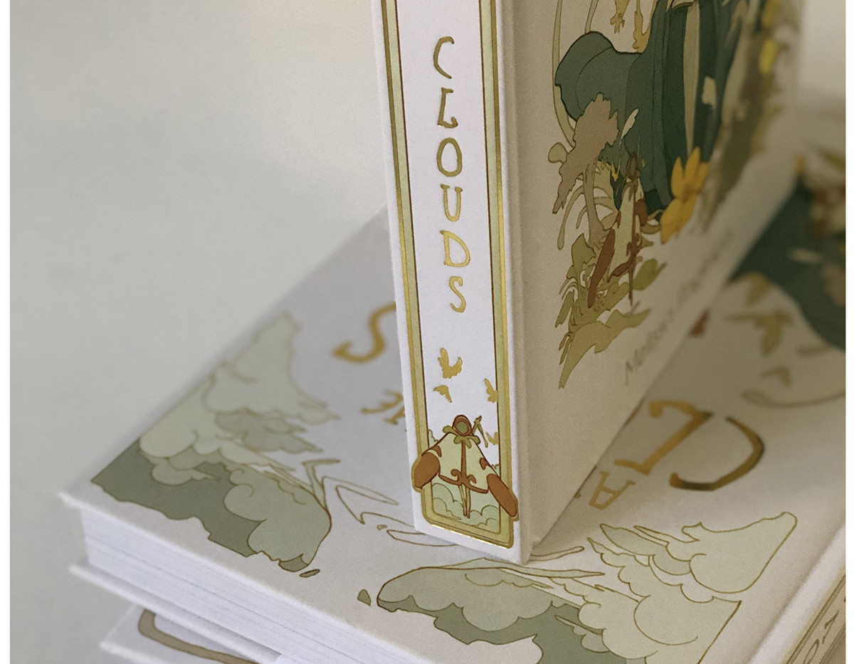 Gold foil on Spine!