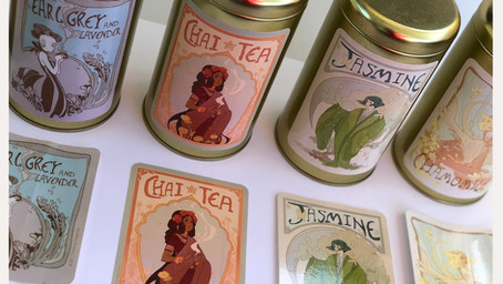Elegant Tea Lady Collection - Chai Tea!