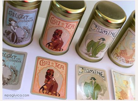 Elegant Tea Lady Collection - Chai Tea!