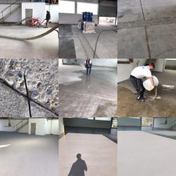 Plastifloor for warehouses