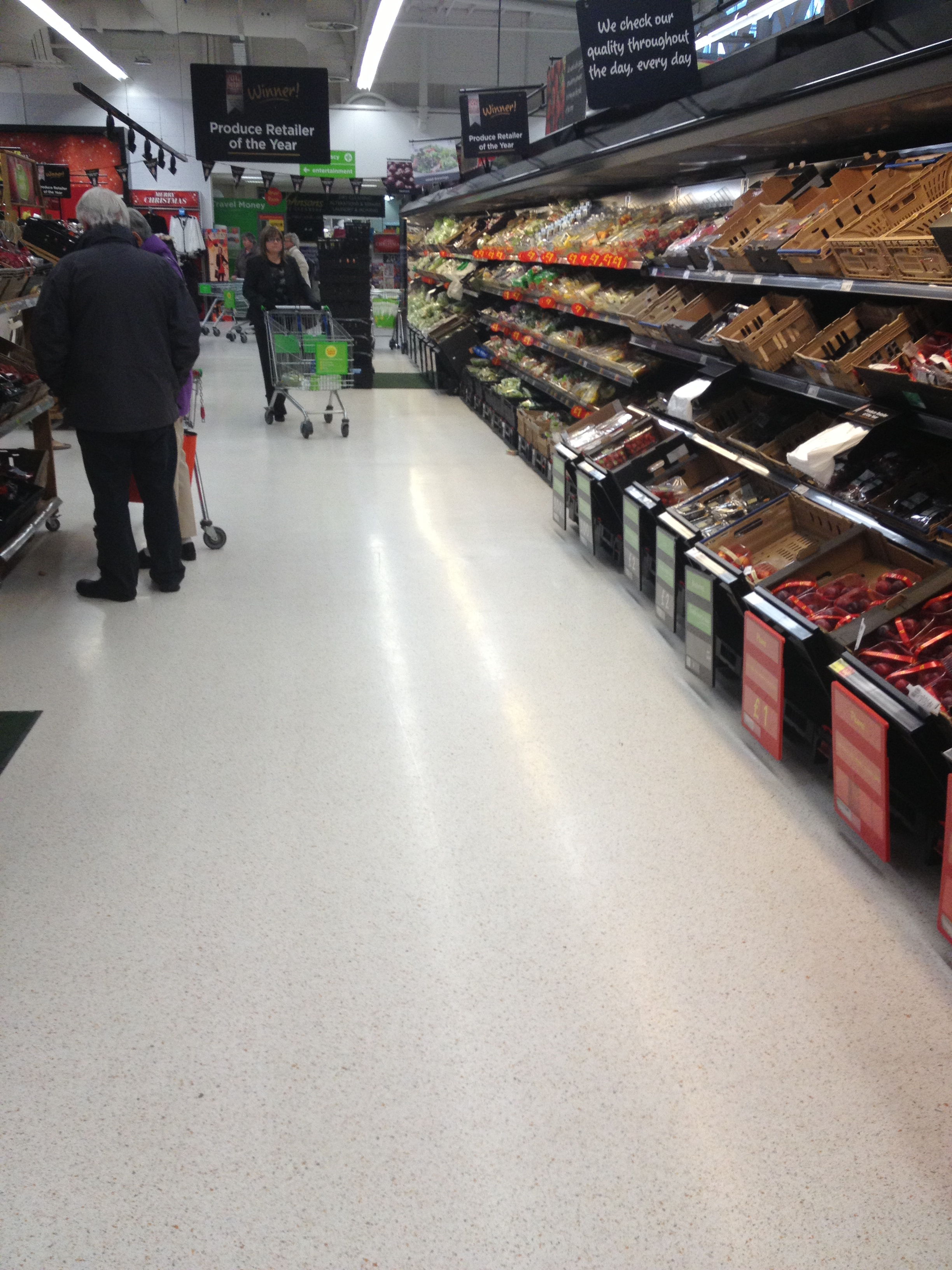 Plastifloor for ASDA, UK