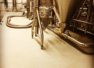Plastifloor resins had been used in this beer brewery.