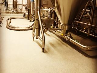 Plastifloor resins had been used in this beer brewery.