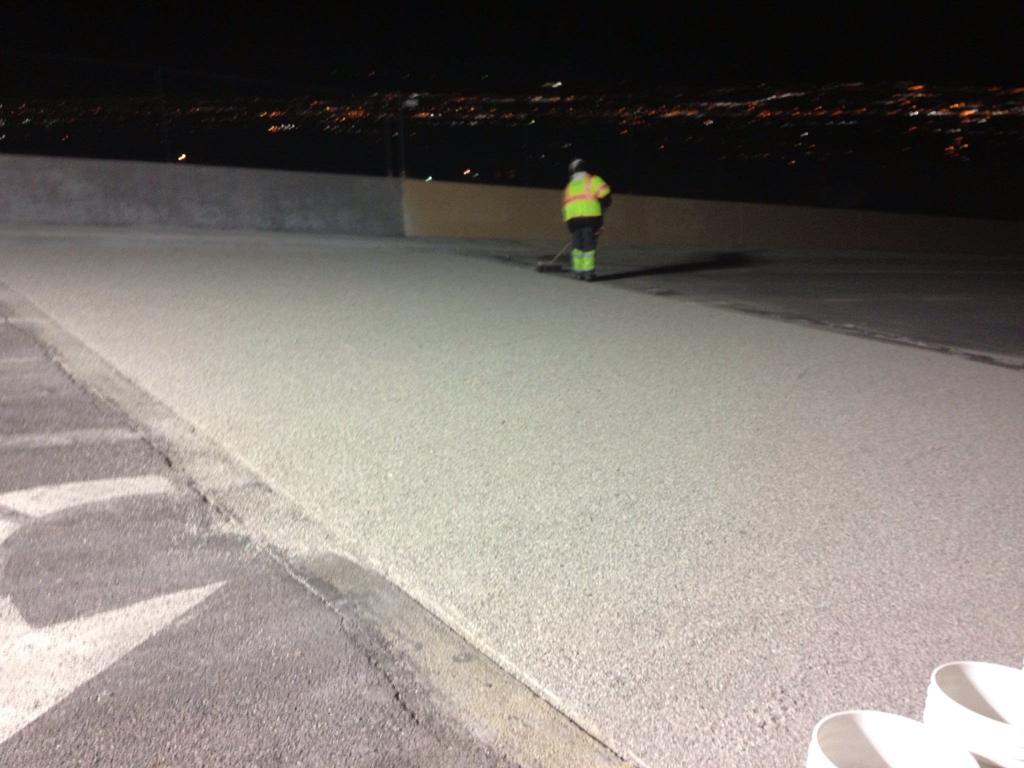 bridge deck overlay, Utah