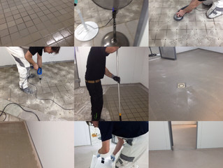 Plastifloors elastic PUMMA Hybrid resins can be used for the installation of fast curing, seamless a