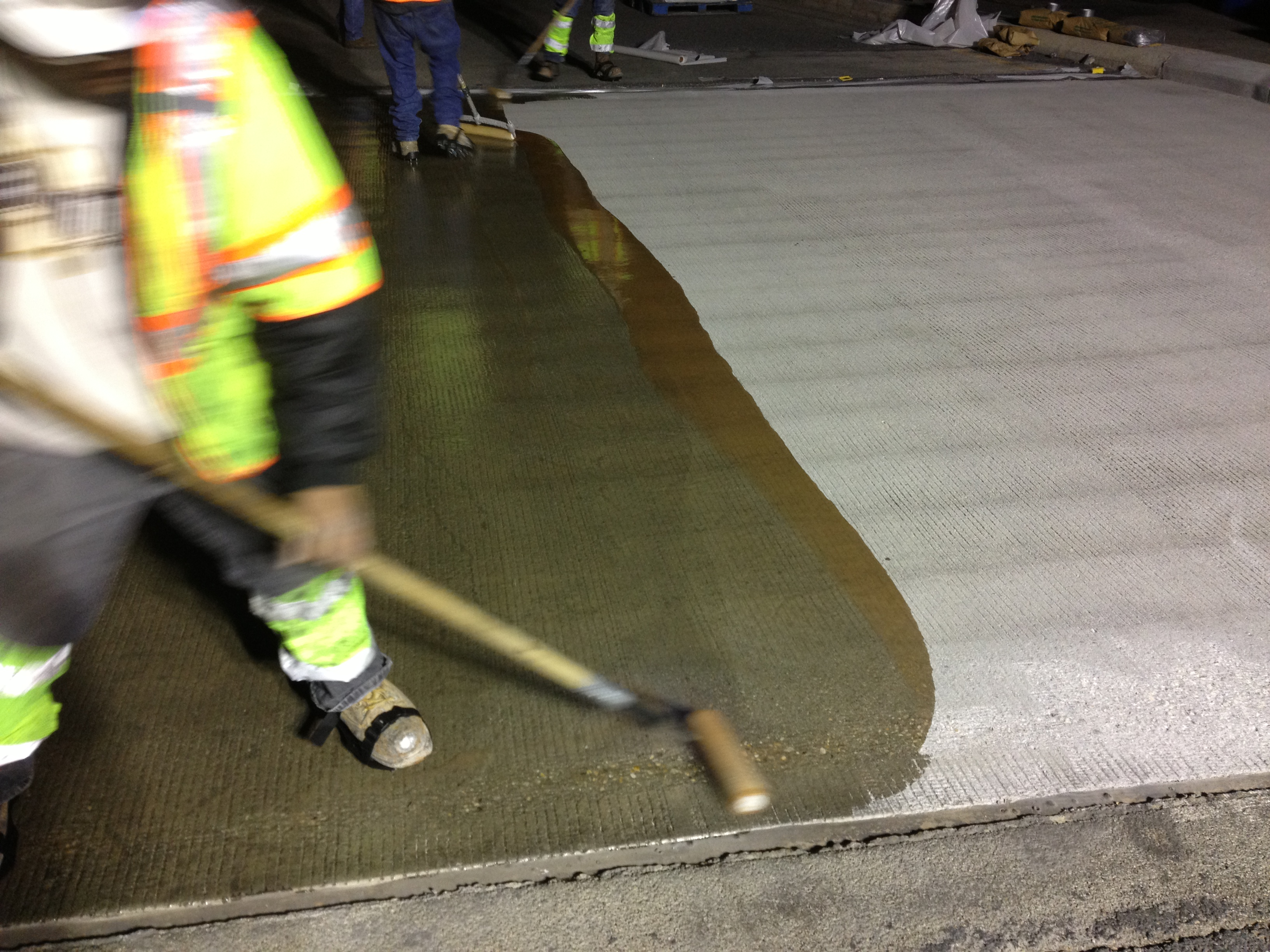 Plastifloor 112 primer on a bridge
