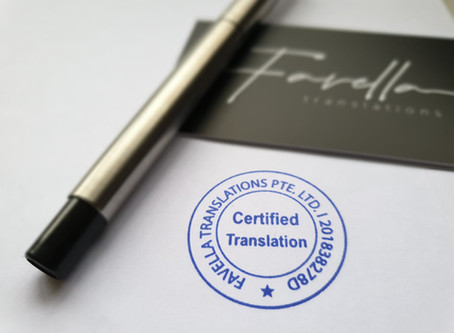Certified Translation | C.O.C. Translation
