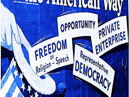 """Communique """"Don't American Dream It, Be It"""" 6-21-2021"""