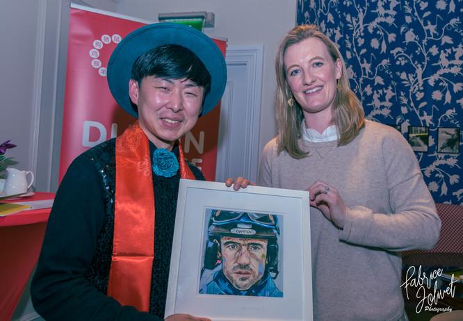 Kildare, IRELAND February 2, 2017 Jin Yong exhibition inauguration Kildare village -7.jpg