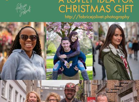 Lovely idea Photoshoot gift voucher