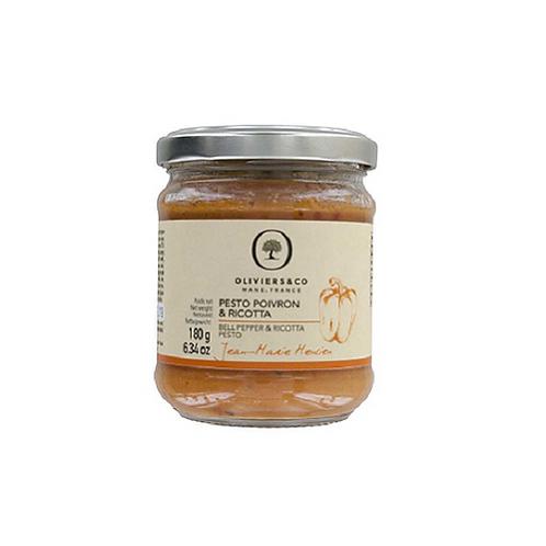 地中海甜椒青醬 來自米其林三星名廚 Pesto ai Peperoni