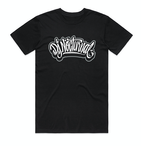 DJ Nocturnal Logo tee