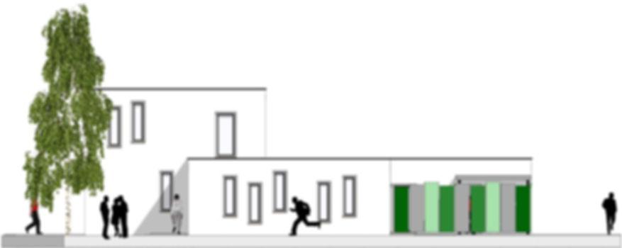 Neubau eines flexiblen Wohnhauses in Grünstadt