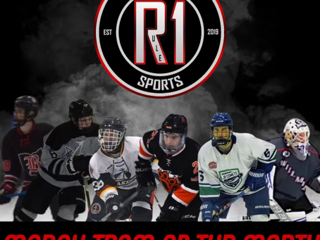 Rule 1 Sports Player's of the Month- March 2021