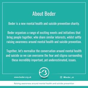 A conversation with Beder